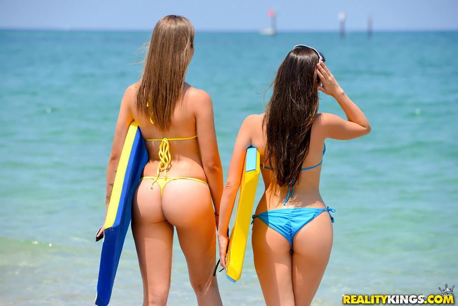 Girl nude beach kinky